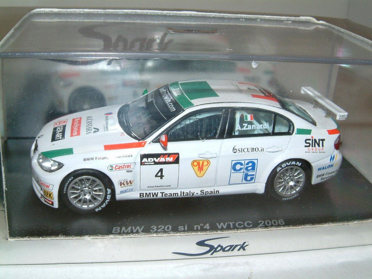 2006 SPARK BMW 320Si WTCC  4 Alex Zanardi.