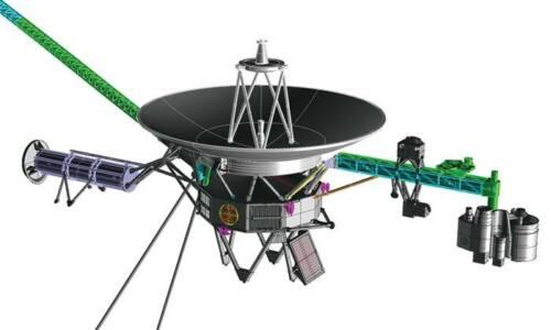 Hasegawa 1:48 Space Probe Voyager Plastic Model Kit SW02 HSGSW02