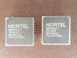 2X IC  CPU GOLD  VINTAGE CERAMIC CPU FOR GOLD SCRAP RECOVERY RARE
