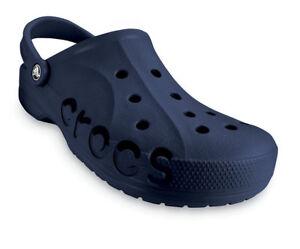 cc1f66acdd Ladies Navy Blue Baya Crocs Clogs Beach Shoes Waterproof Sandals ...