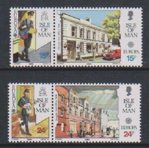 Isle-of-Man-1990-Europa-Post-Office-Buildings-set-MNH-SG-438-41