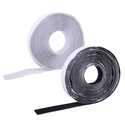Heavy Duty Reusable Double Sided Sticky Back Fastening Tape Black 5cm-5m Self Adhesive Sticky Tape Adhesive Hook and Loop Tape