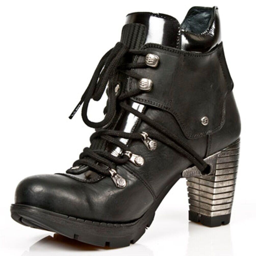 New Rock Stiefel Damenschuhe Punk Gothic - Stiefel - Gothic Style TR010 S1 Schwarz - Damen 0d06a2