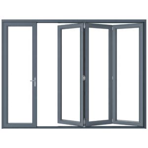 Eris Bi Fold Doors Folding Patio Door Size 120 X 96 Ebay