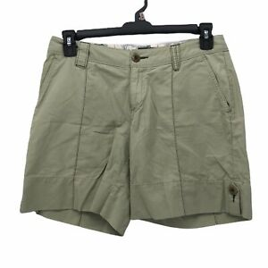 Horny-Toad-Womens-sz-6-Solid-Light-Green-Cargo-Style-Hiking-Trail-Casual-Shorts