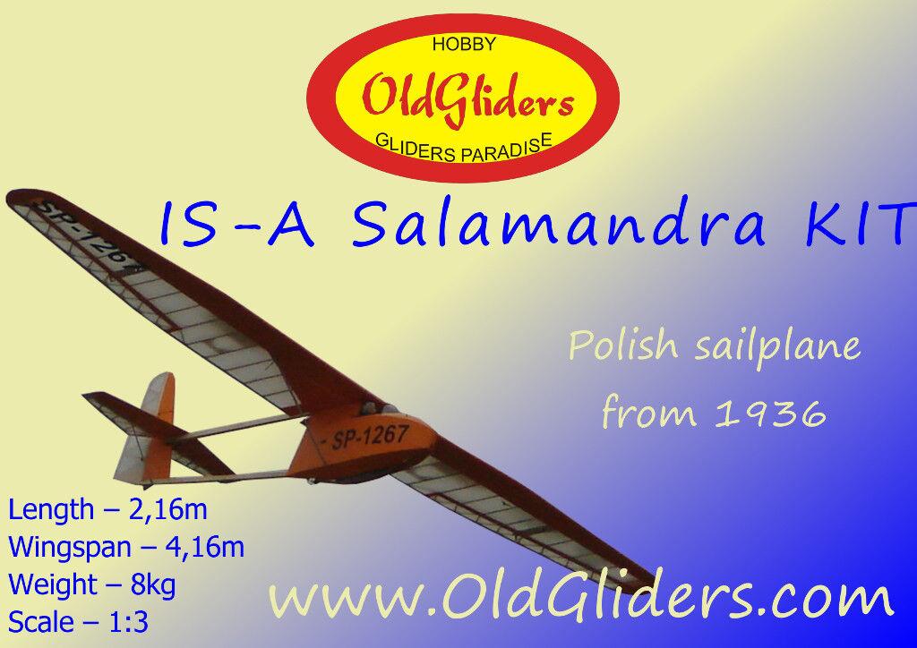 OldGliders IS-A Salamandra 1 3, 4,16m, KIT NEW     NEW    b53c69