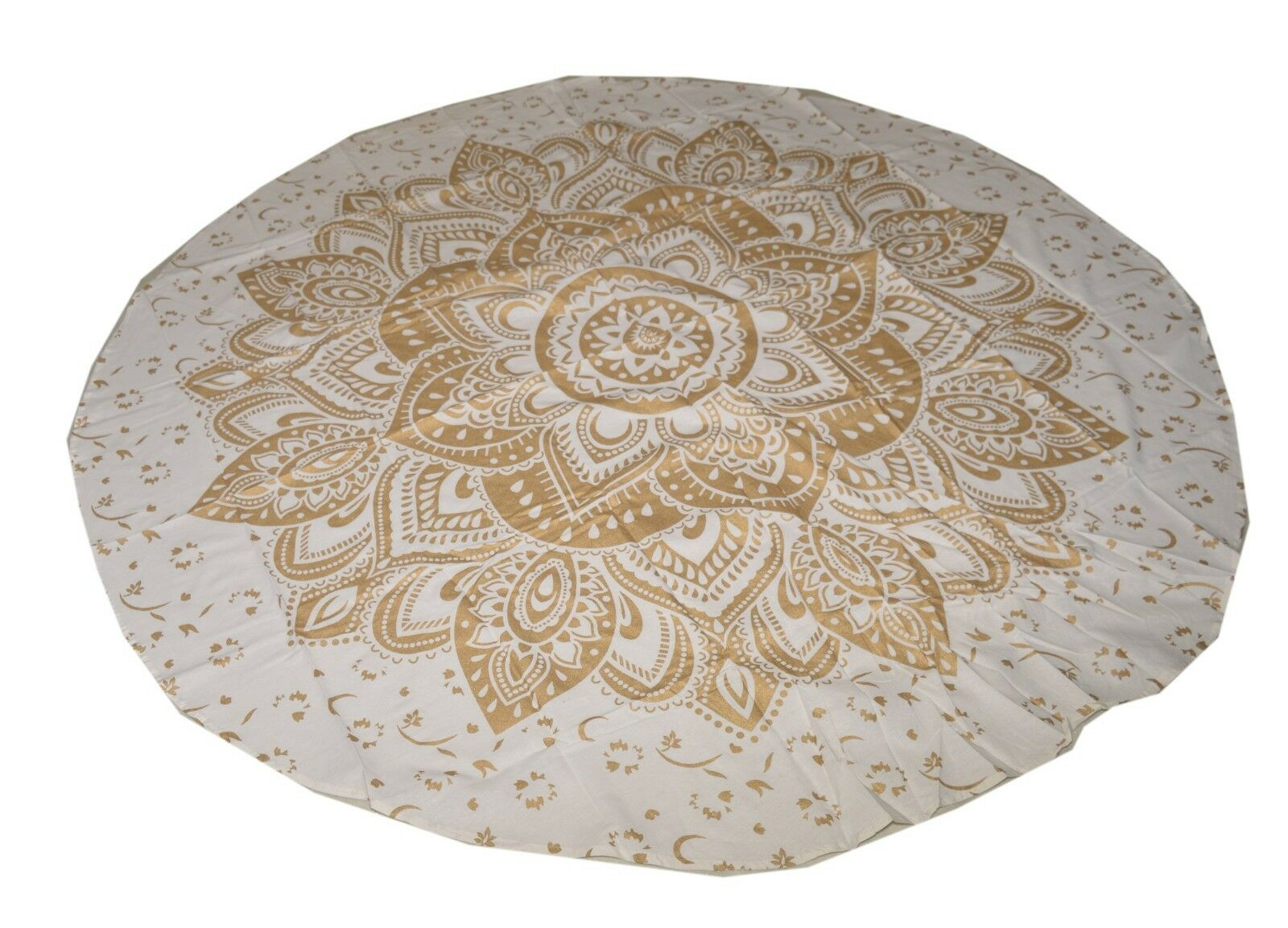 Magical Thinking Mandala Wall Hanging Ombre Bed Cover Round Beach Blanket Indian