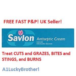 Details about Savlon Antiseptic Skin Healing Cream 30g Treat Cuts Graze  Bite Sting Minor Burns