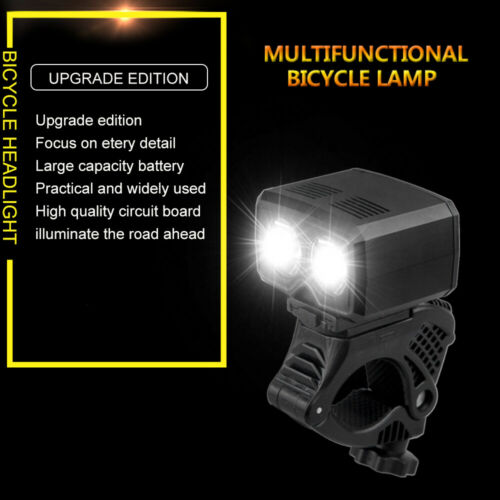 5000LM Bicycle LED Front Light USB Rechargeable 5 Mode Headlight Bike Tail Lamp