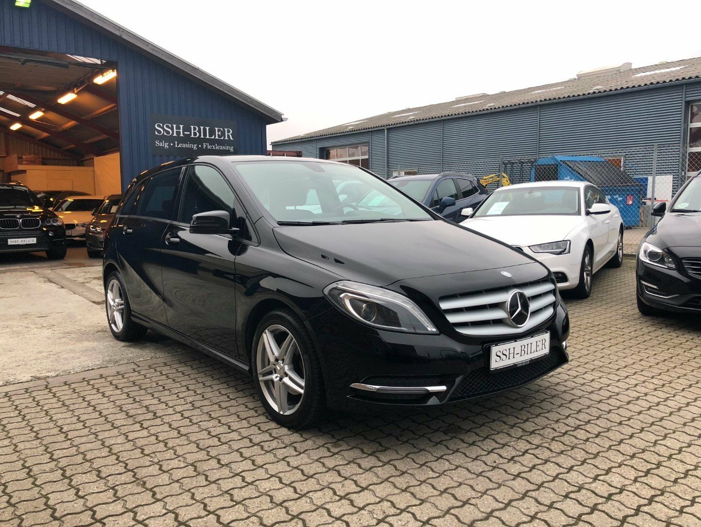 Mercedes B200 1,8 CDi aut. BE 5d - 217.995 kr.