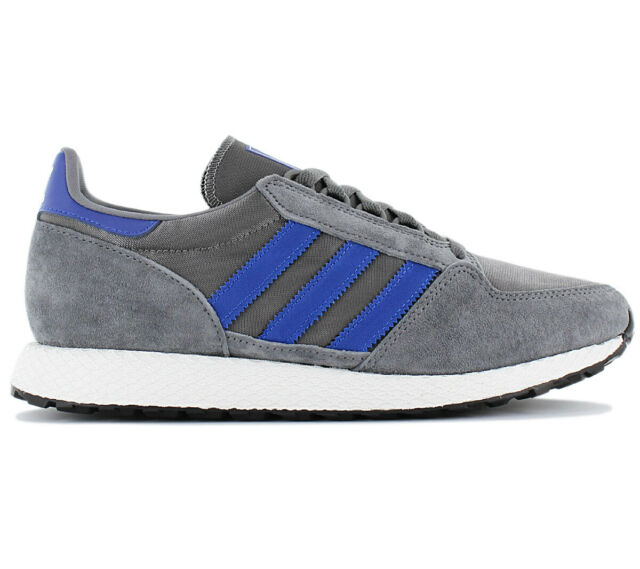 Originals Forest Men's Grey Sneakers Trainers Adidas Retro Shoes Grove B41548 wvm0nN8