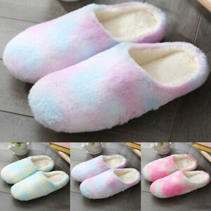 Women-Winter-Slippers-Home-Indoor-Suede-Soft-Fluffy-Fur-Flat-Casual-Sandal-Shoes