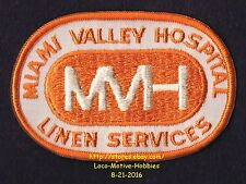 LMH PATCH Badge MIAMI VALLEY HOSPITAL Dayton MVH LINEN SERVICE Premier Health OH