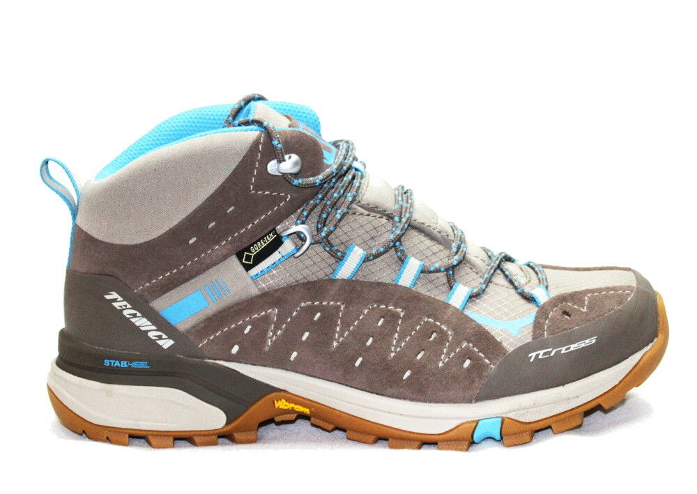 Technical t-Cross Mid GTX weiße Schuhe gehen ERL US 7 Frau
