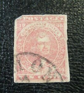 nystamps US CSA Confederate Stamp # 5 Used $450 F26x1766