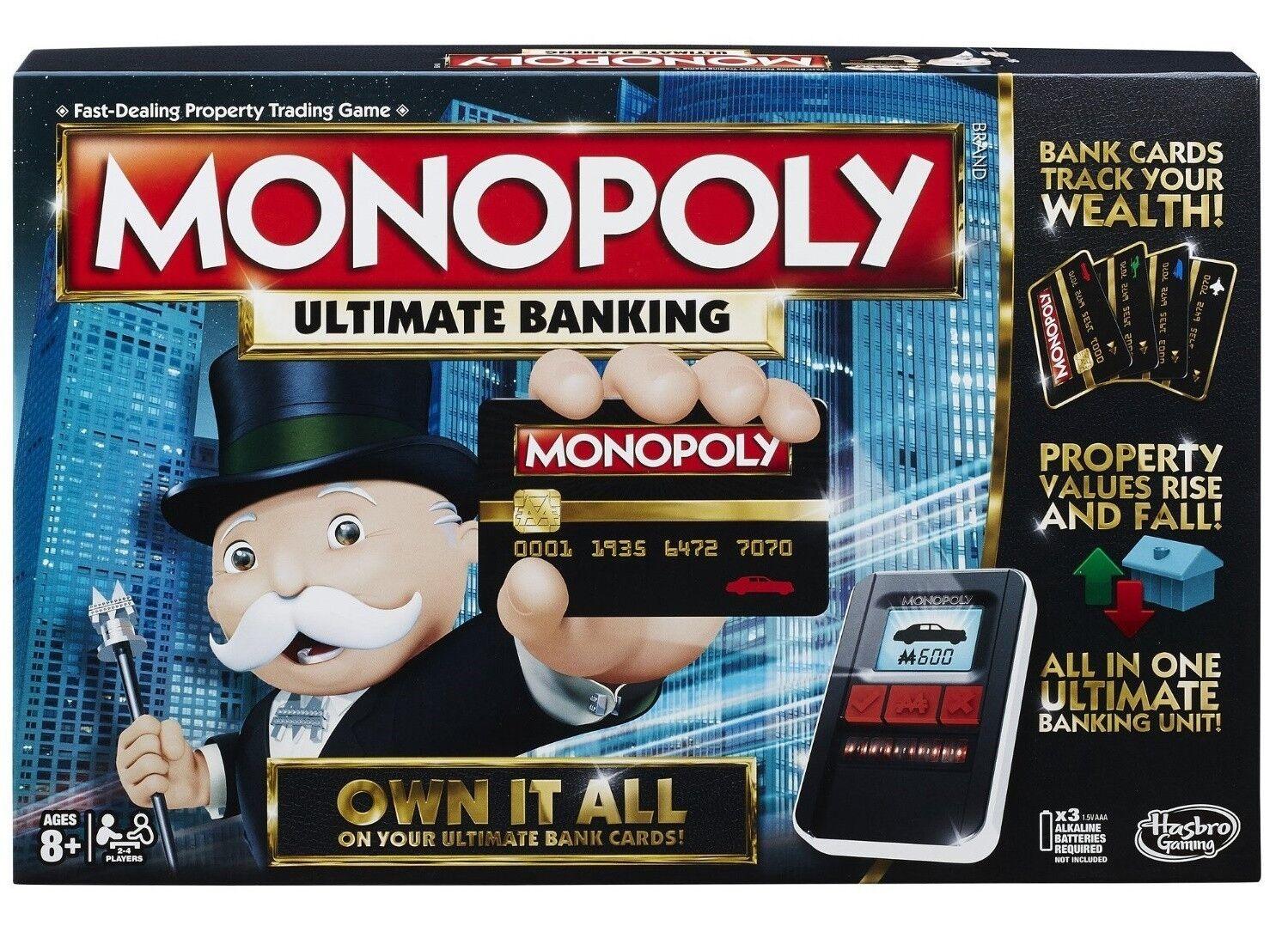 Monopoly - ausgabe elektronischen brettspiel ultimative spielzeug spielen hasbro ne