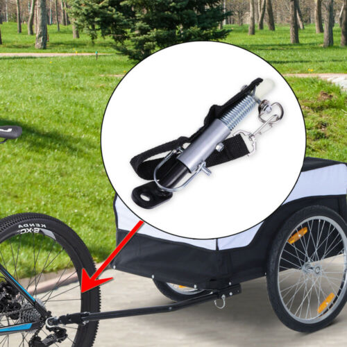 Universal Bike Bicycle Trailer Coupler Angled Elbow Attachment Hitch Linker NEW