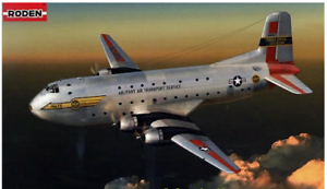Roden-306-Douglas-C-124-Globemaster-II-1-144-scale-model-airplane-kit-277-mm