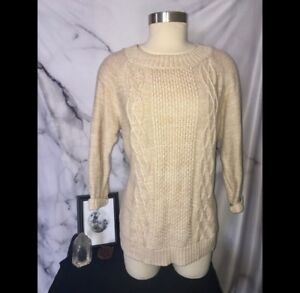 Tan Bean L Knit Sweater l q17qxnO