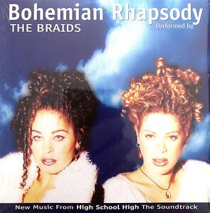 The-Braids-Maxi-CD-Bohemian-Rhapsody-Europe-EX-VG