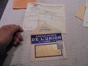Ancienne-Enveloppe-Illustree-du-Chocolat-de-la-Chocolaterie-de-l-039-Union-1955
