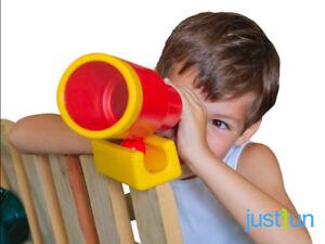 Fernrohr teleskop fernglas spielzeug für spielturm spielhaus zubehör