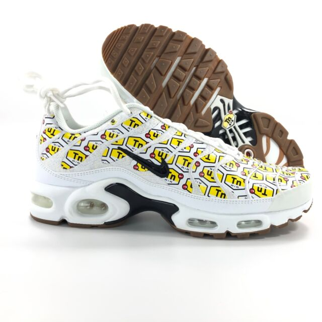 Nike Air Max Plus QS TN All Over Print White Black Red 903827 100 Size 9