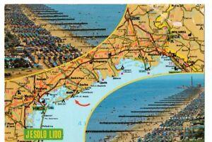 Cartina Italia Jesolo.Jesolo Lido Venezia Cartina Ed De Longhi Treviso Ebay