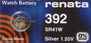 1-x-Renata-392-Swiss-Made-Lithium-Cell-Battery-SR41W-watch-electronic
