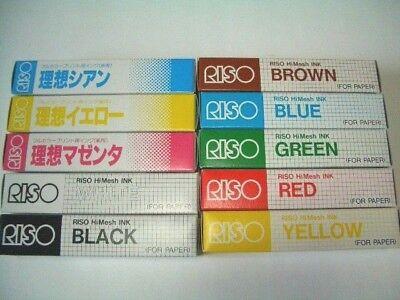 RISO Print Gocco Hi mesh INK for paper Screen printer FLUORESCENT PURPLE