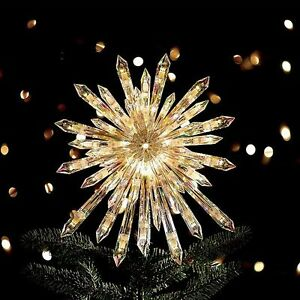Ge 50 Lights 13 5 Quot Large Crystal Twinkle Sparkle Starburst