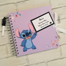 PERSONALISED DISNEY WORLD//LAND MICKEY MOUSE AUTOGRAPH//MEMORY BOOK