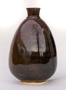 Studio-Pottery-Vase-F-Carlton-Ball-1911-1992-Wisconsin-MCM-Vintage-Ceramics