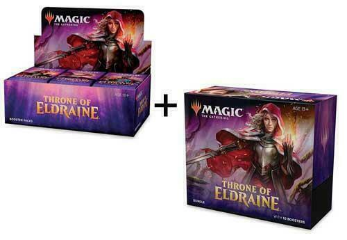 Magic Throne Of Eldraine Set Booster Box//Bundle In Stock