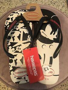 havainas-flip-flops-sandals-men-disney-sz-13-NEW