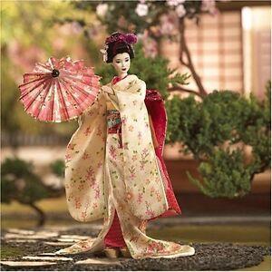 MAIKO-Japanese-Geisha-Girl-NEW-World-Culture-Japan-Barbie-Doll-Gold-Label-RARE