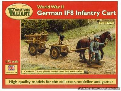 Valiant Miniaturers WWII German IF8 Infantry Cart (Infanteriefahzeug auf8)  1/72