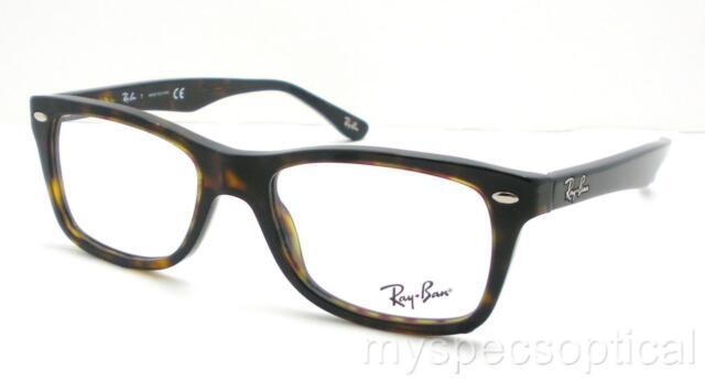 Ray Ban Eyeglasses Rx5228 2012 Dark Havana Plastic Frame 50mm | eBay