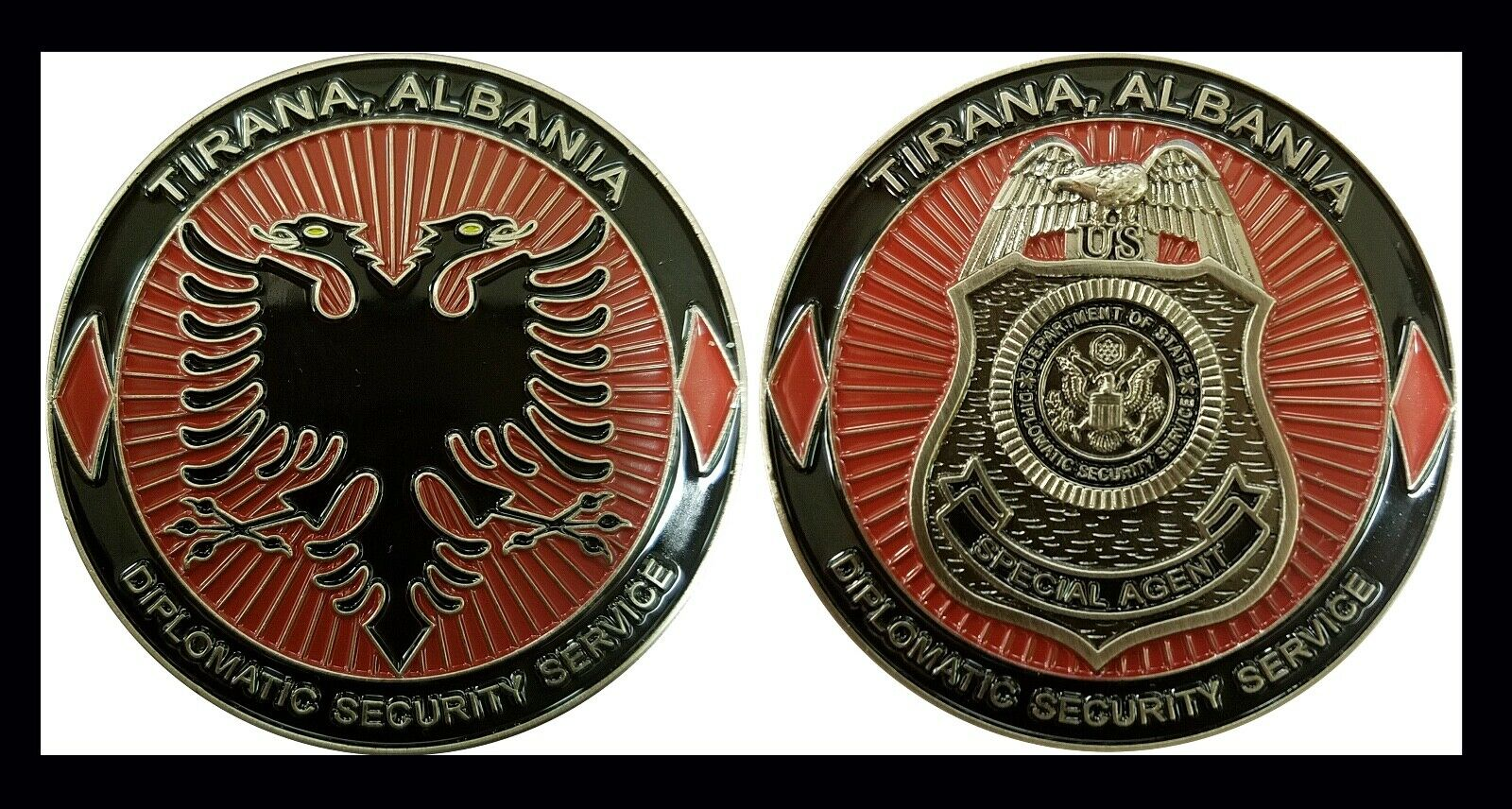 Challenge Coin - Diplomatic Security Service