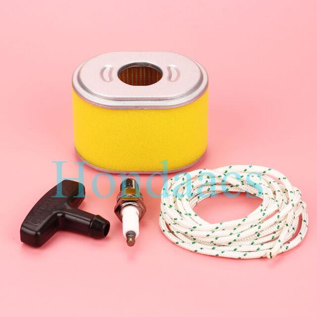 air filter pull starter rope & handle for honda gx140 gx160 gx200 engine