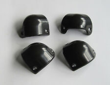Set of 4 Front Black Guitar Amp Speaker Cabinet Corner Protectors for Marshall