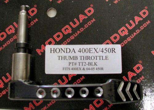 ModQuad Thumb Throttle Lever 400EX TRX 450 Black 04-05