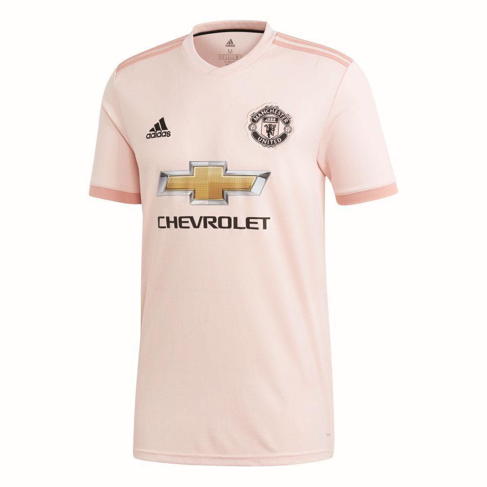 Adidas Footbtutti Soccer uomochester United FC MUFC Men Away Jersey Shirt 2018 2019