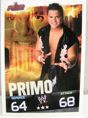 Slam Attax Evolution  #049 Primo