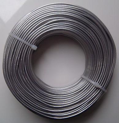 (0,23€/m) Aludraht 2mm rund 30m Biegedraht Basteldraht Schmuckdraht Draht 2,0 mm