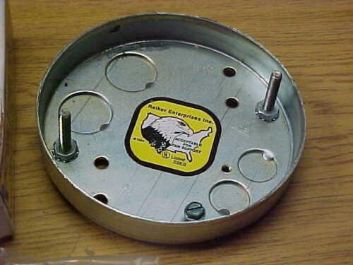 REIKER CEILING FAN PAN INSTALLATION BOX KIT #77700 NOS