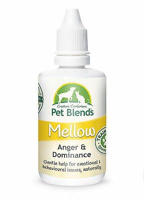 Natural Pet Remedy ANGER AGGRESSION DOMINANT TRAINING Dog Cat Horse Mellow Blend