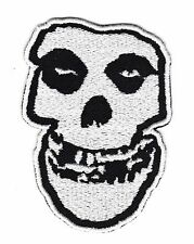 Misfits Skull Iron On Embroidered Patch Punk Rock Band