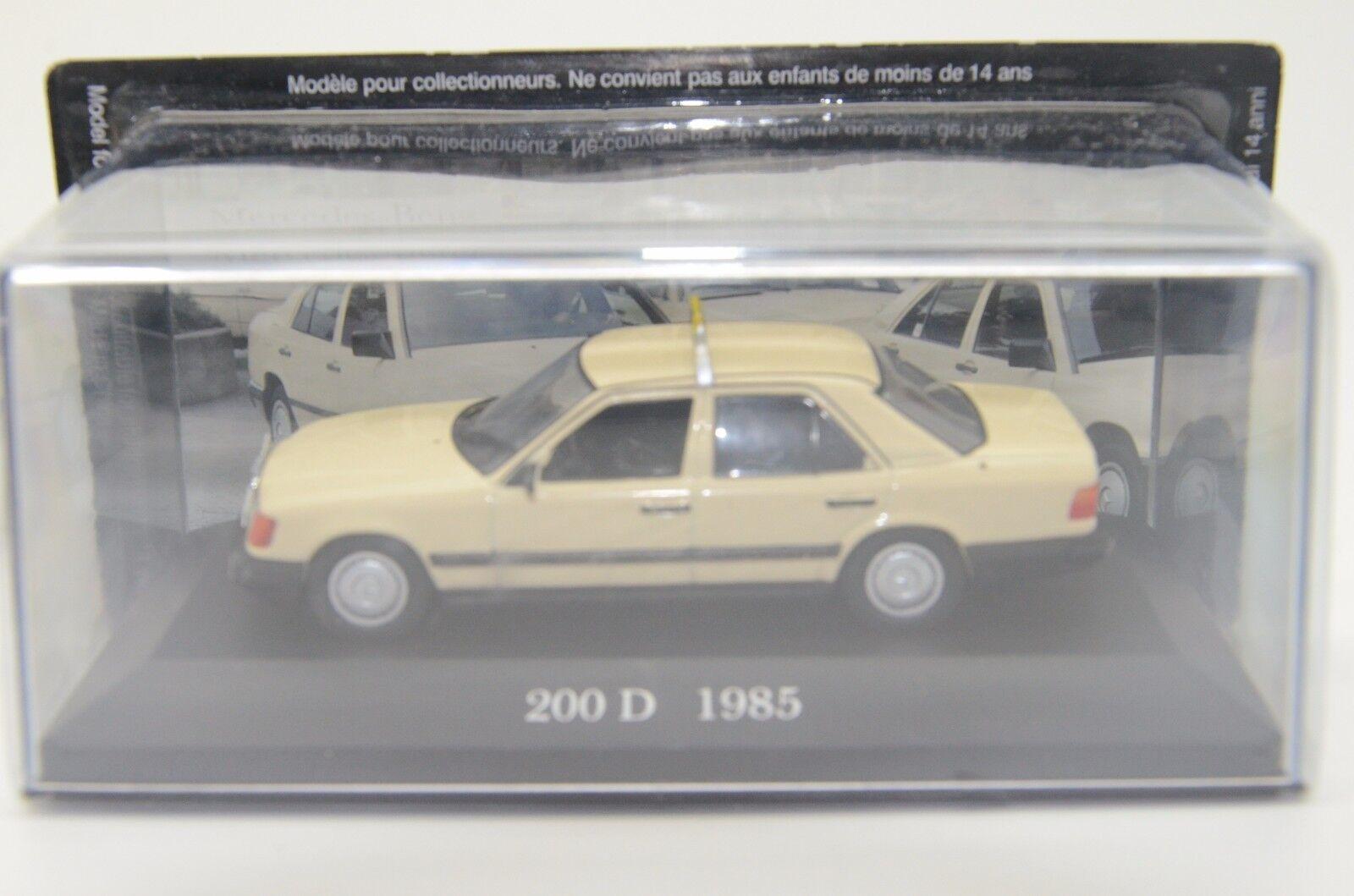 Mercedes Clase E 200D 1985 taxi Altaya Altaya Altaya 1 43 b938d7