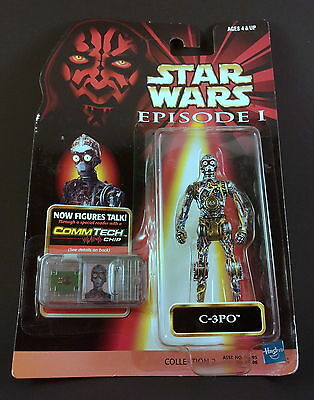 Star Wars 1998 Episode 1 Collection 2 C-3PO Action Figure The Phantom Menace